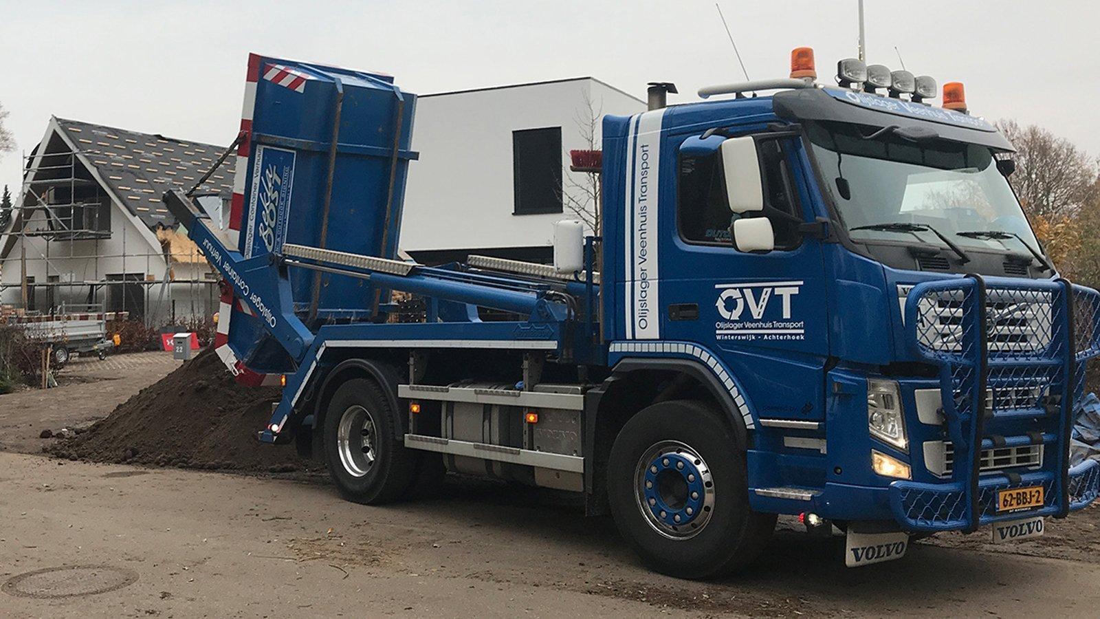 Olijslager Veenhuis Transport